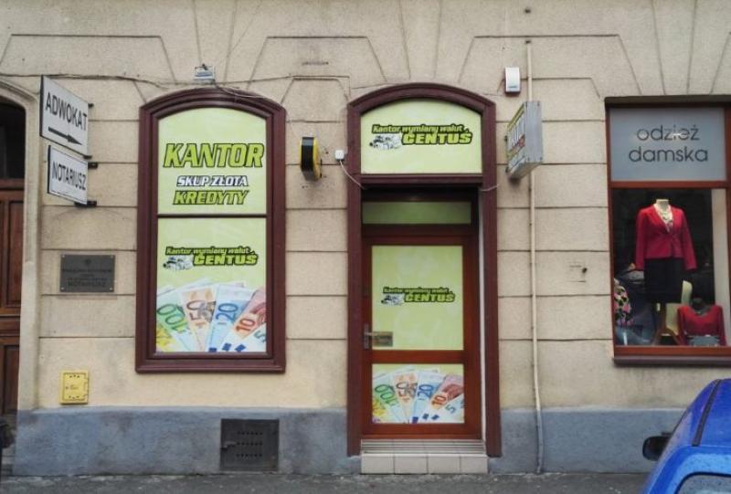 Kantor Wymiany Walut CENTUŚ Nowy Sącz, Kraków