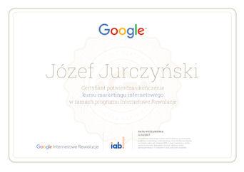 Certyfikat Internetowych Rewolucji