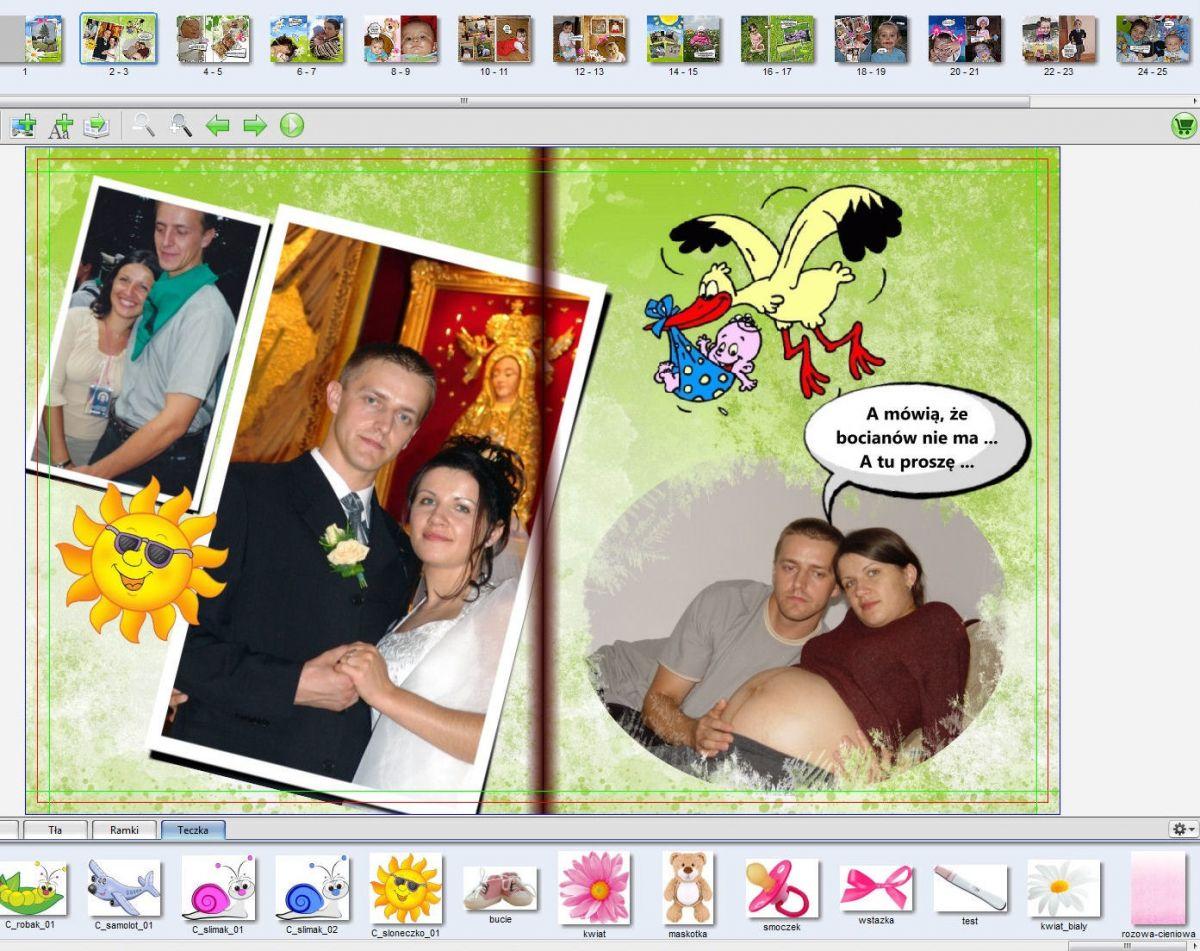Strona 2-3 zdjęcia dziecka