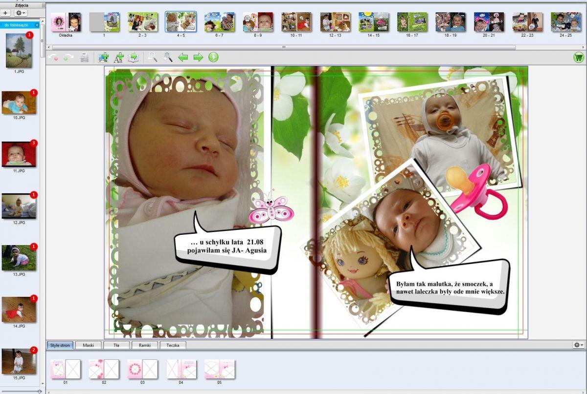 Strona 4-5 pamiątka z dzieciństwa