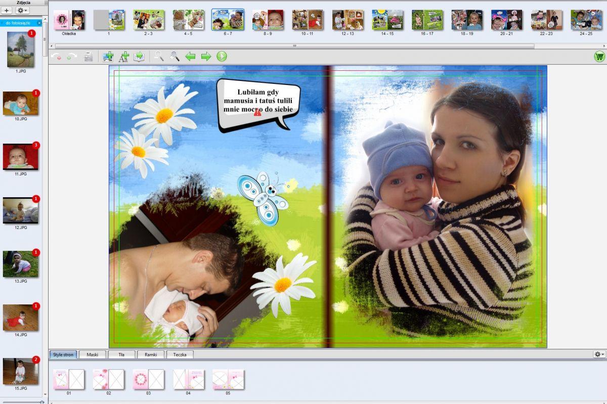 Pamiątka dla dziecka - strona 6-7