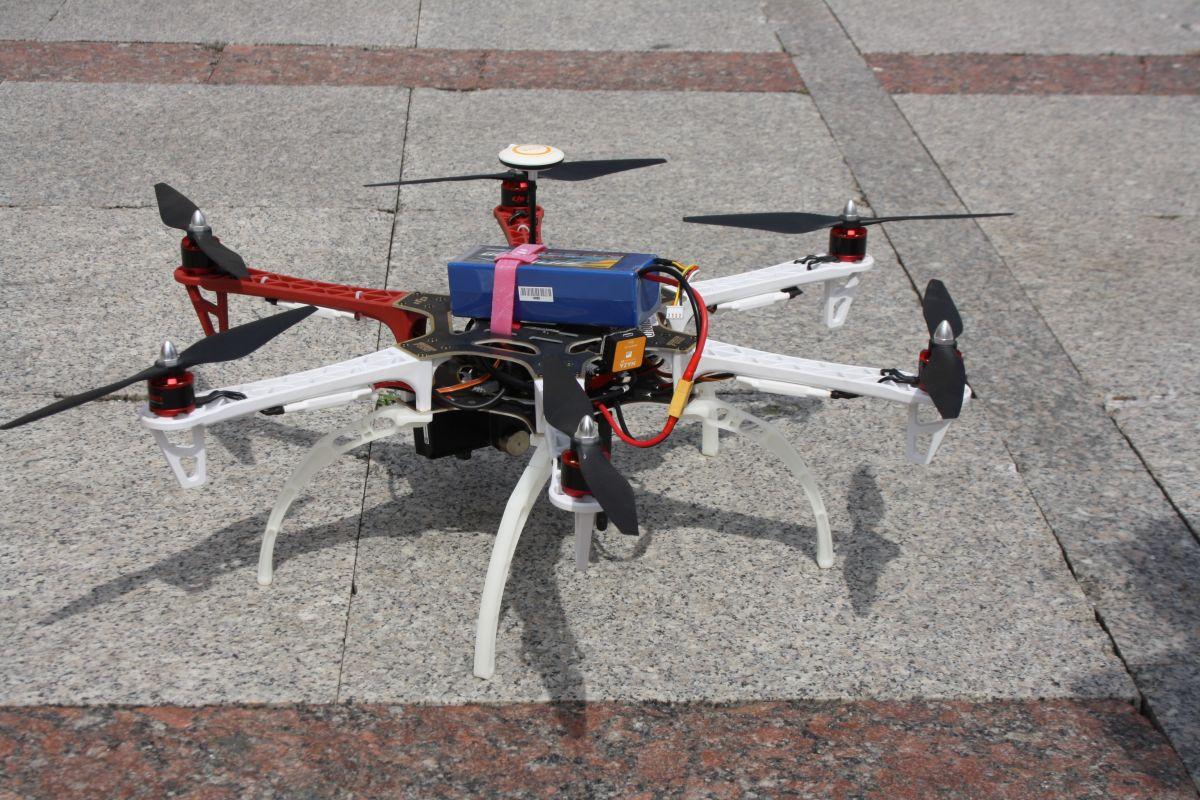 Dron  Nowy Sącz DJI 550