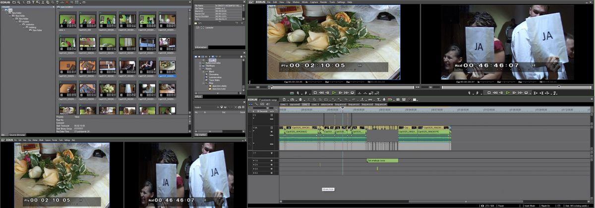 Panel Edius Pro 6.5 video-foto-kris oprogramowanie