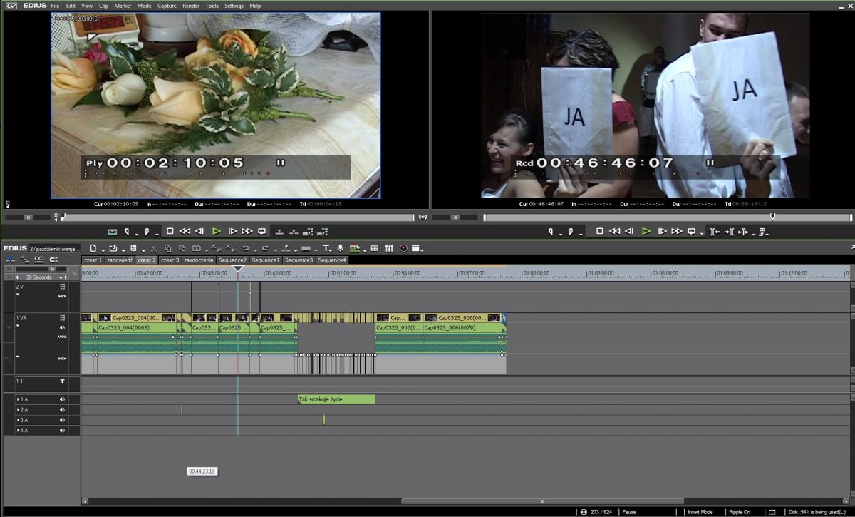 Edius Pro 6.5 panel - oprogramowanie video-foto-kris