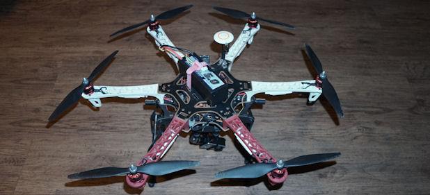 FILMOWANIE Z POWIETRZA (DRON)