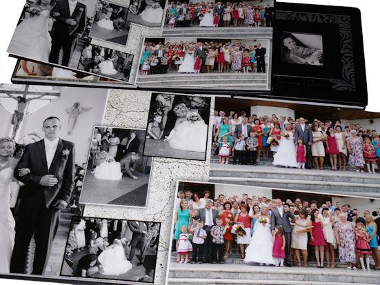 zdjęcia weselne foto książka